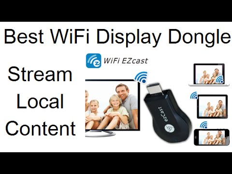 EzCast M2 WiFi Display Dongle Unboxing Setup And Review Video
