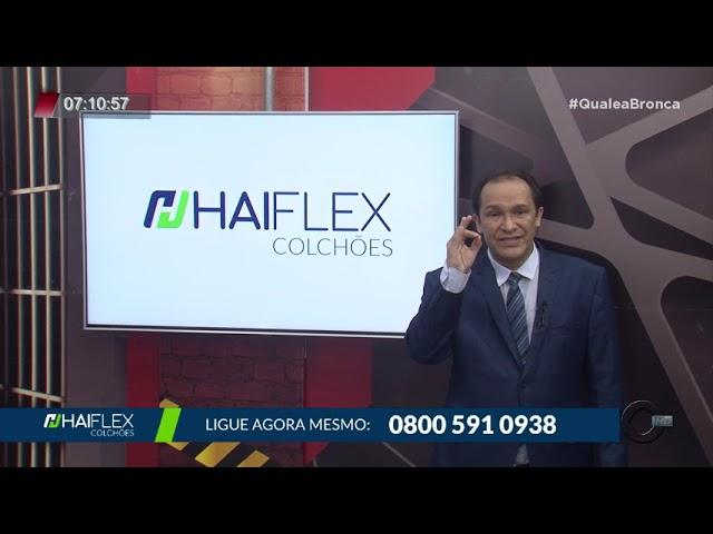 Colchão Tecnológico Haiflex no Programa Qual é a Bronca? - Record