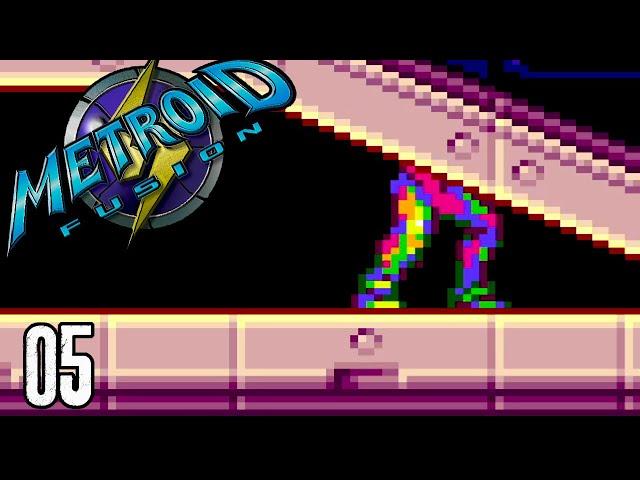 Samus Aran Into The Wall - Metroid Fusion Part 5
