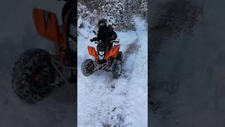 Atv Quad 250cc Snow