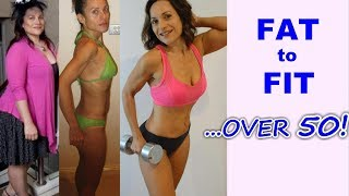 My Inspiring Fitness Journey // From FAT to SKINNY to FIT Over 50!