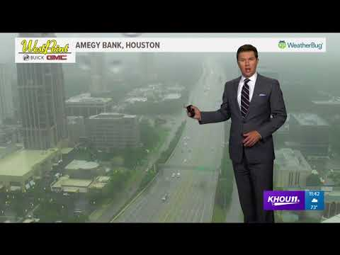Meteorologist Brooks Garner's weather forecast at 11:40 a.m.