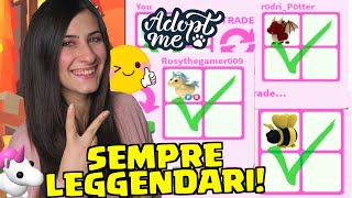 Come avere SEMPRE PET LEGGENDARI con lo scambio 🦄 Roblox ADOPT ME ITA By FrancyDreams