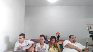 Família Ebenézer em sua casa: EBD 17/05/20