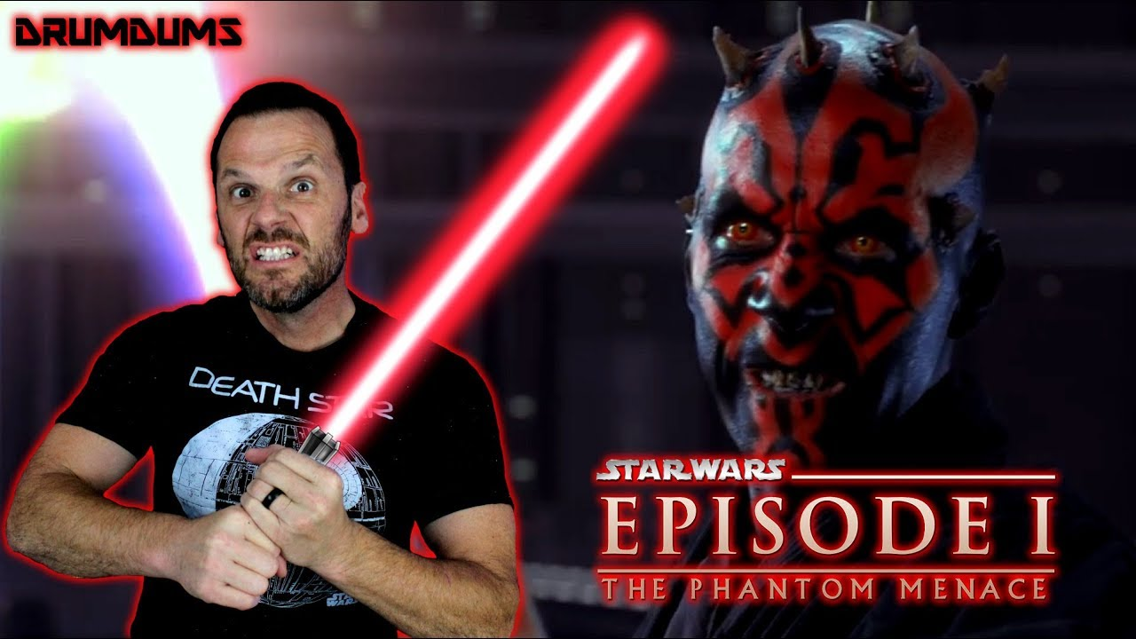 Drumdums Reviews Star Wars The Phantom Menace Youtube