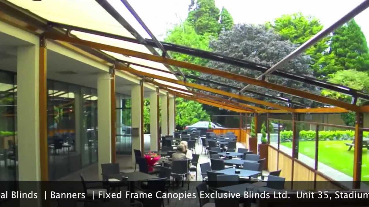 Promoshades - Verandasol Roof System Co.Cork - Ireland & Promoshades - Verandasol Roof System Co.Cork - Ireland - YouTube