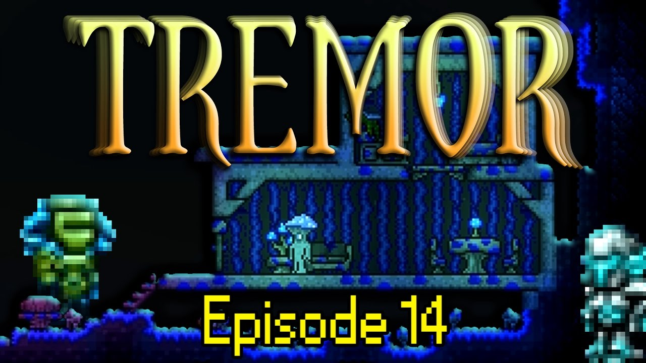 Terraria Tremor Mod - Episode 14 - The Golem is derping out