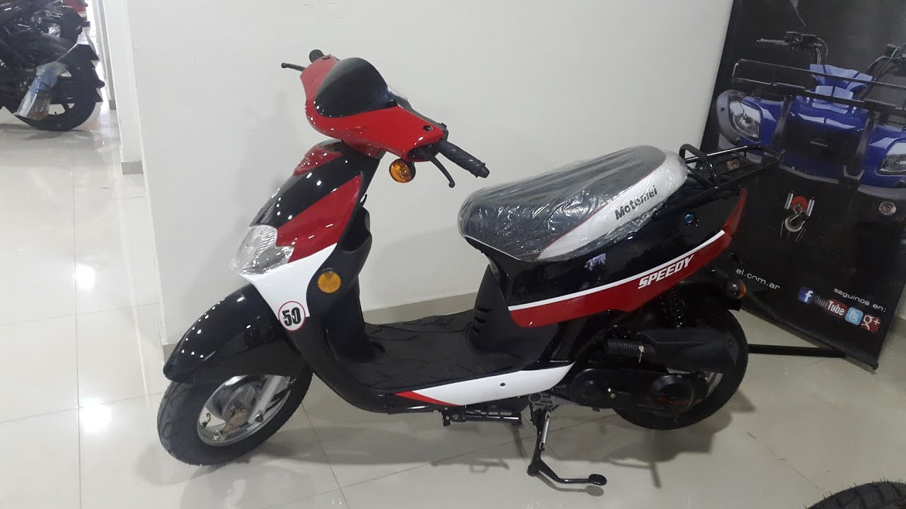 moto scooter motomel speedy 50