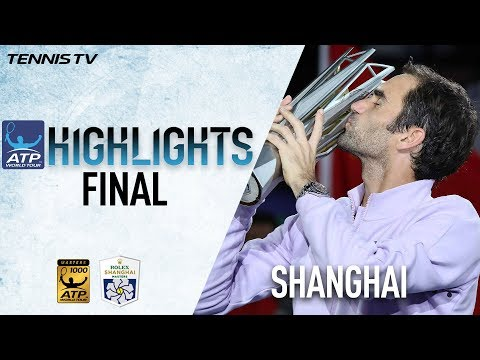 Highlights: Federer Defeats Nadal In Shanghai 2017 Final