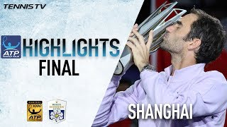 Highlights: Federer Defeats Nadal In Shanghai 2017 Final
