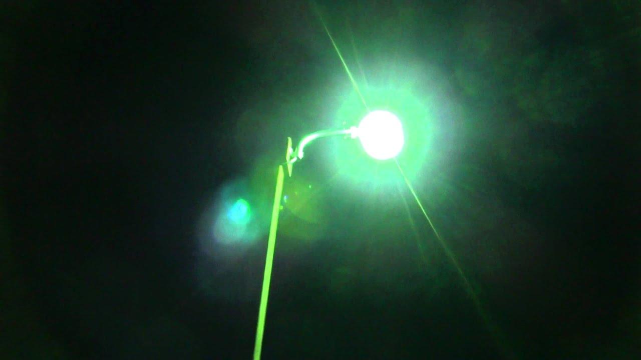 Regent 175watt Mercury Vapor (MV) Industrial Area Light In Use 2011