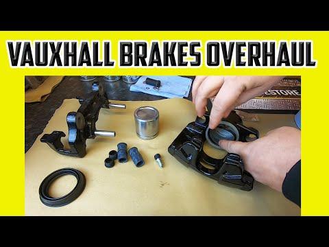 Vauxhall Brake Caliper Rebuild And Suspension Fix Vectra Signum