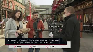 In what year did the Canadian one-dollar coin (Loonie) enter circulation? | Outburst