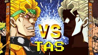 [TAS] DIO vs Shadow Dio | Jojo's Bizzare Adventure : Heritage for the Future