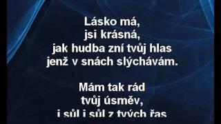 Lásko má - Karel Gott Karaoke tip