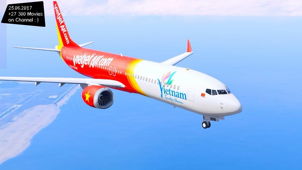 Vietjet Air Boeing 737 New ENB Top Speed Test GTA Mod Future - YouTube