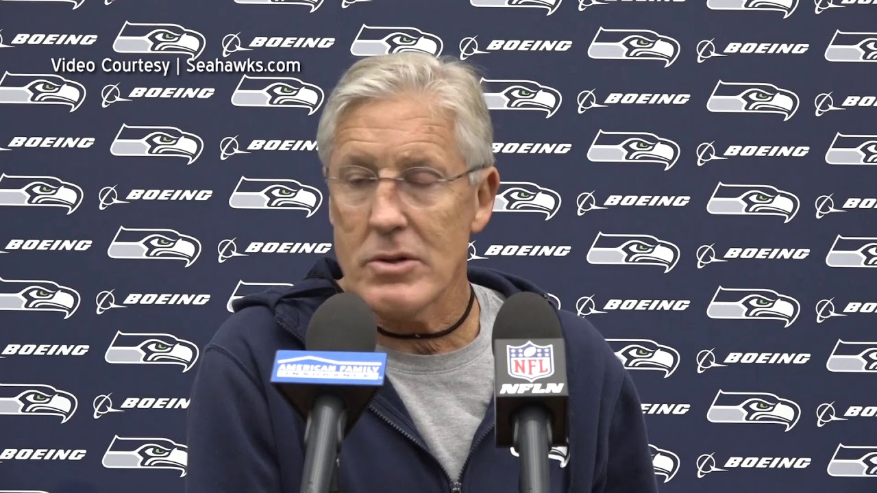 Pete Carroll on Browns 2019-10-07