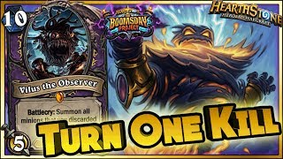 Hearthstone - One Turn Kill - WTF Moments Boomsday Funny Rng Moments