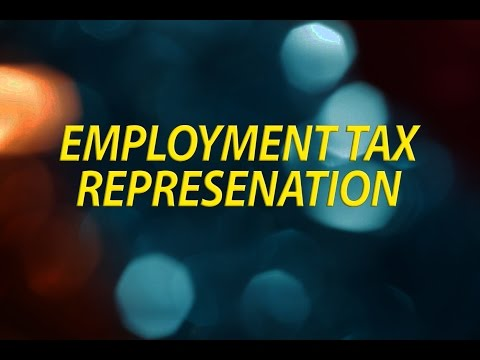 Employment Tax Representation
