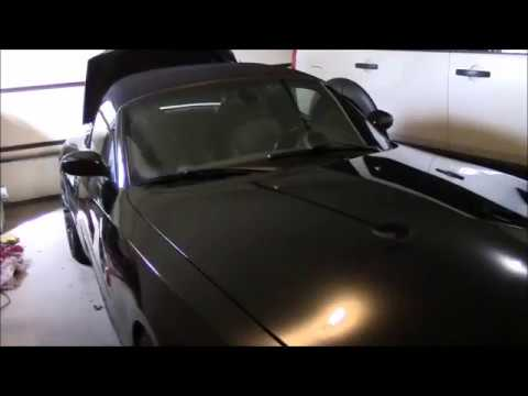 BMW Z4 battery location and swap.  Where is it? E85