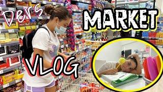 GÜNLÜK VLOG | Market alışverişi | Ders Çalışma Rutinim