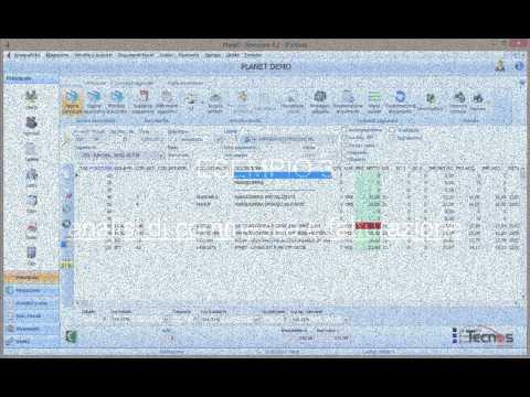 Principali caratteristiche del software Planet