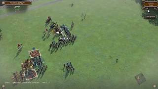 Field of Glory 2 #05 Rise of Rome - Battle of Bibracte Gameplay 60 FPS