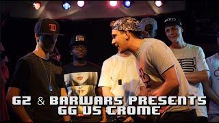 KOTD - Rap Battle - GG vs Krome | #GZ/BarWars