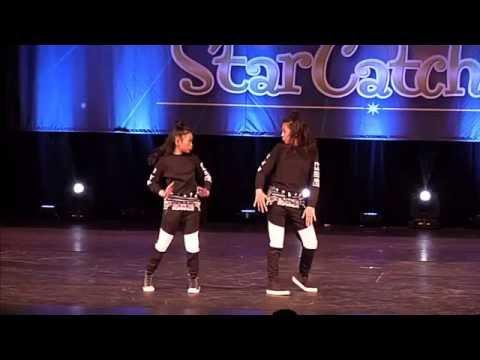 Amazing Hip Hop Duet 2016 - Justine & Jamie - Lil J Squared