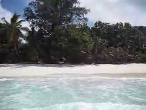 Praslin-Anse Lazio 08.01.2009 Seychelles Island / shark attack area