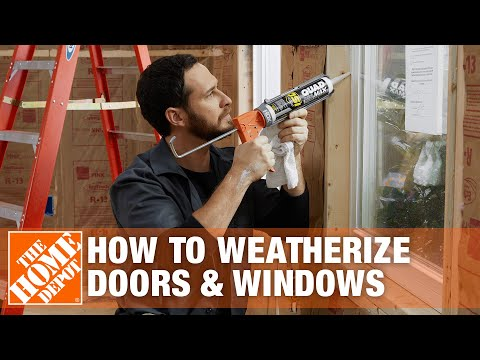 Weatherizing Doors And Windows:  Overview | The Home Depot