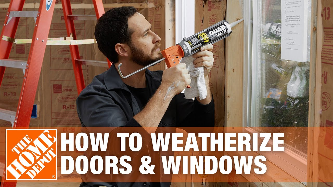 Weatherizing Doors And Windows Overview Youtube