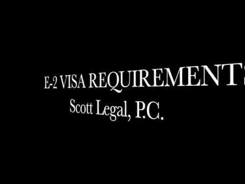 E-2 Visa Questions & Answers | Scott Legal, P C