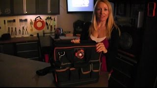 How To Use the Light On The Lighted Tool Bag