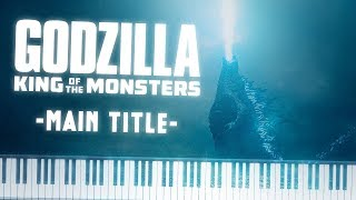 Synthesia [Piano Tutorial] Godzilla 2 | King of the Monsters - Main Title