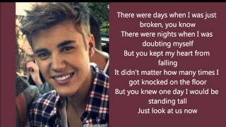 Justin Bieber - Believe (Lyrics)