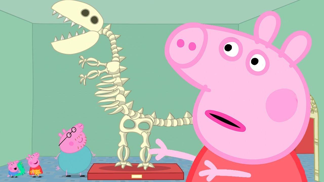Peppa Pig in Hindi - The Museum - Museum - Hindi Cartoons for Kids