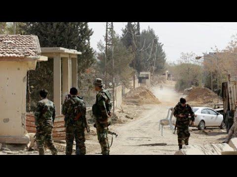 سوريا: أول عملية إجلاء لمقاتلين ومدنيين تنطلق في الغوطة الشرقية  - نشر قبل 1 ساعة