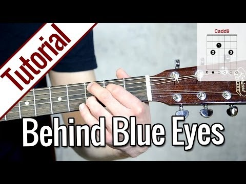 Limp Bizkit - Behind Blue Eyes | Gitarren Tutorial Deutsch