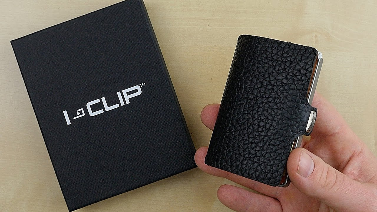 iclip das ultimative slim wallet edc review. Black Bedroom Furniture Sets. Home Design Ideas