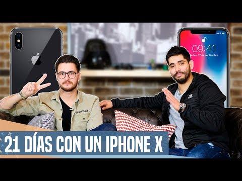 21 días con un iPhone X