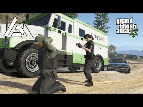 GTA 5 Roleplay - ARP - #159 - Robbing a Bank Truck as Cops! thumbnail