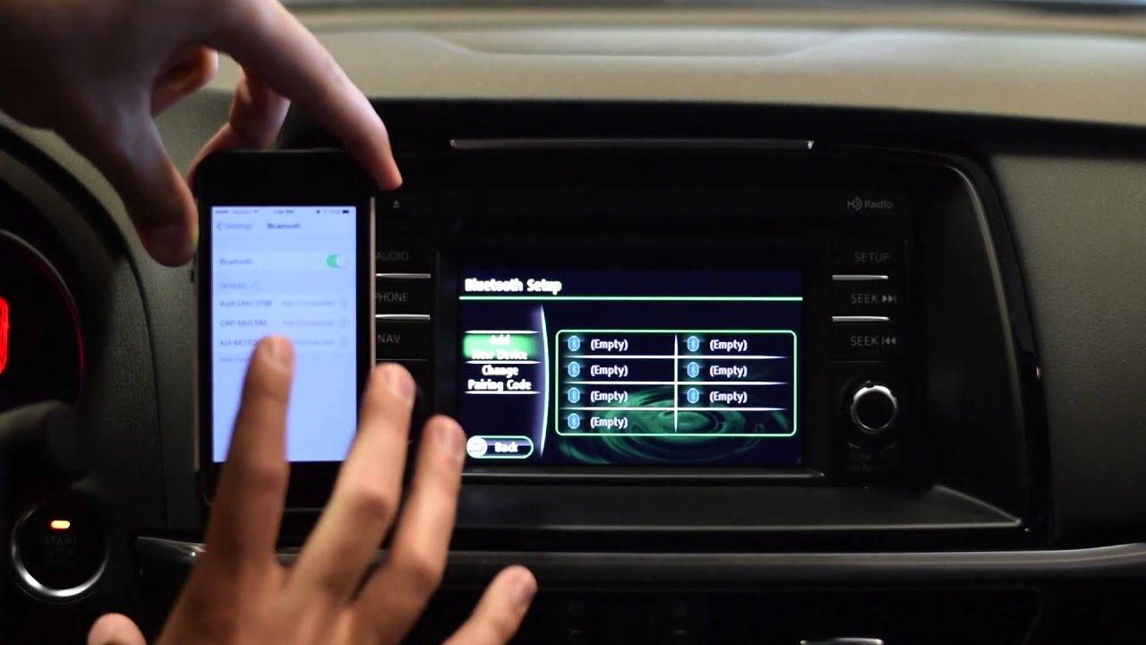 Mazda6 Iphone Bluetooth Pairing Tutorial Morrie S