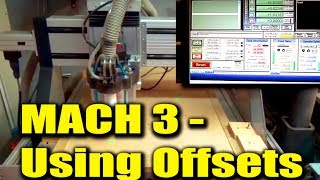 How Mach3 Can Store and Recall Table Positions Using Offsets