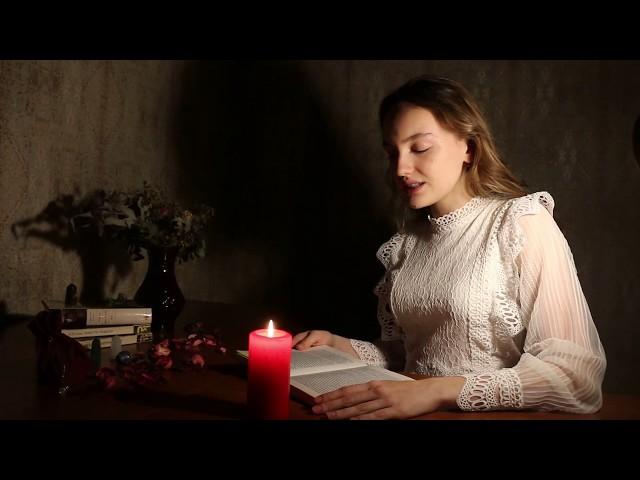 Изображение предпросмотра прочтения – КсенияГаричкина читает отрывок изпроизведения «Вий» Н.В.Гоголя