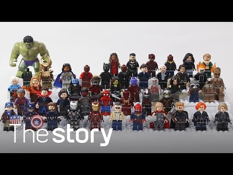 Marvel Studio 10th Anniversary! He will make a MCU by customizing the Lego mini figure!