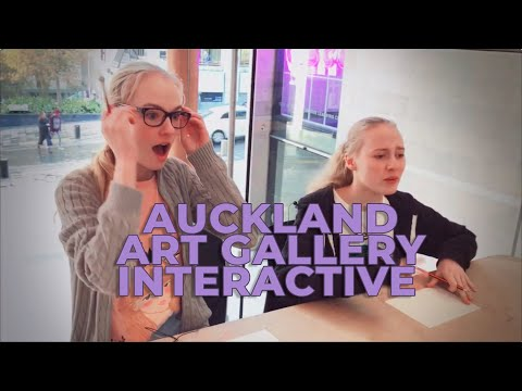 Teens at Auckland Art Gallery | Free Family Activities Every Weekend
