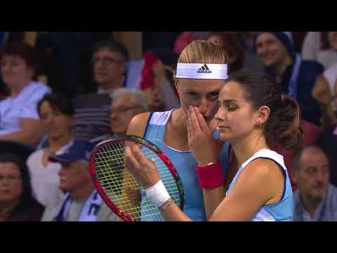 Fed Cup - Demi finale - France vs Etats-Unis - Arena du Pays d'Aix