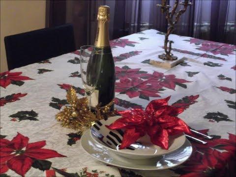 C mo hacer un mantel de navidad youtube - Manteles para navidad ...