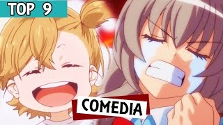 9 Mejores Animes de Comedia !!